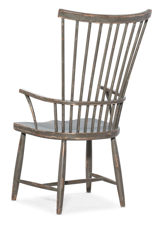 Hooker Furniture - Marzano Windsor Arm Chair, 2/ctn