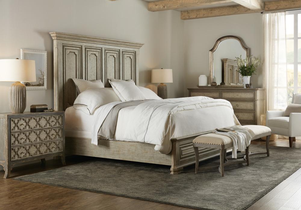 Hooker Furniture - Leonardo California King Mansion Bed