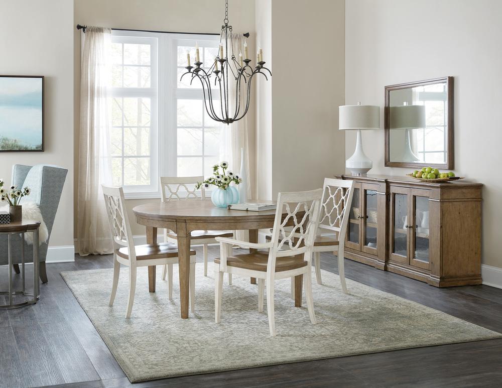 Hooker Furniture - Wood Seat Side Chair, 2/ctn