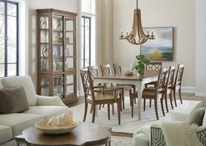 Thumbnail of Hooker Furniture - Wood Seat Arm Chair, 2/ctn