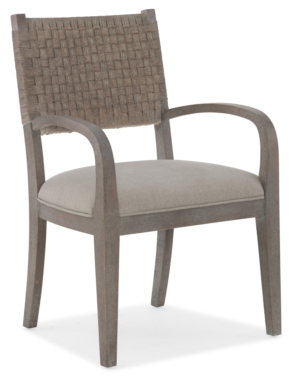 HOOKER FURNITURE CO - Artemis Woven Arm Chair