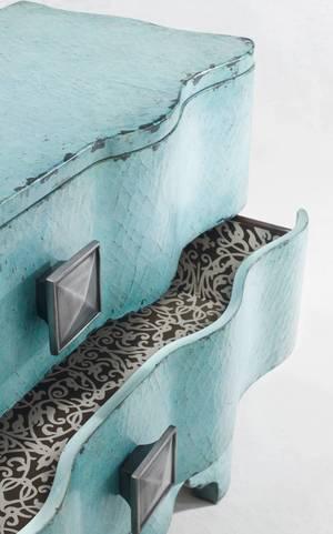 Thumbnail of Hooker Furniture - Melange Turquoise Crackle Chest