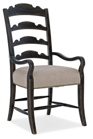 Thumbnail of Hooker Furniture - Twin Sisters Ladderback Arm Chair