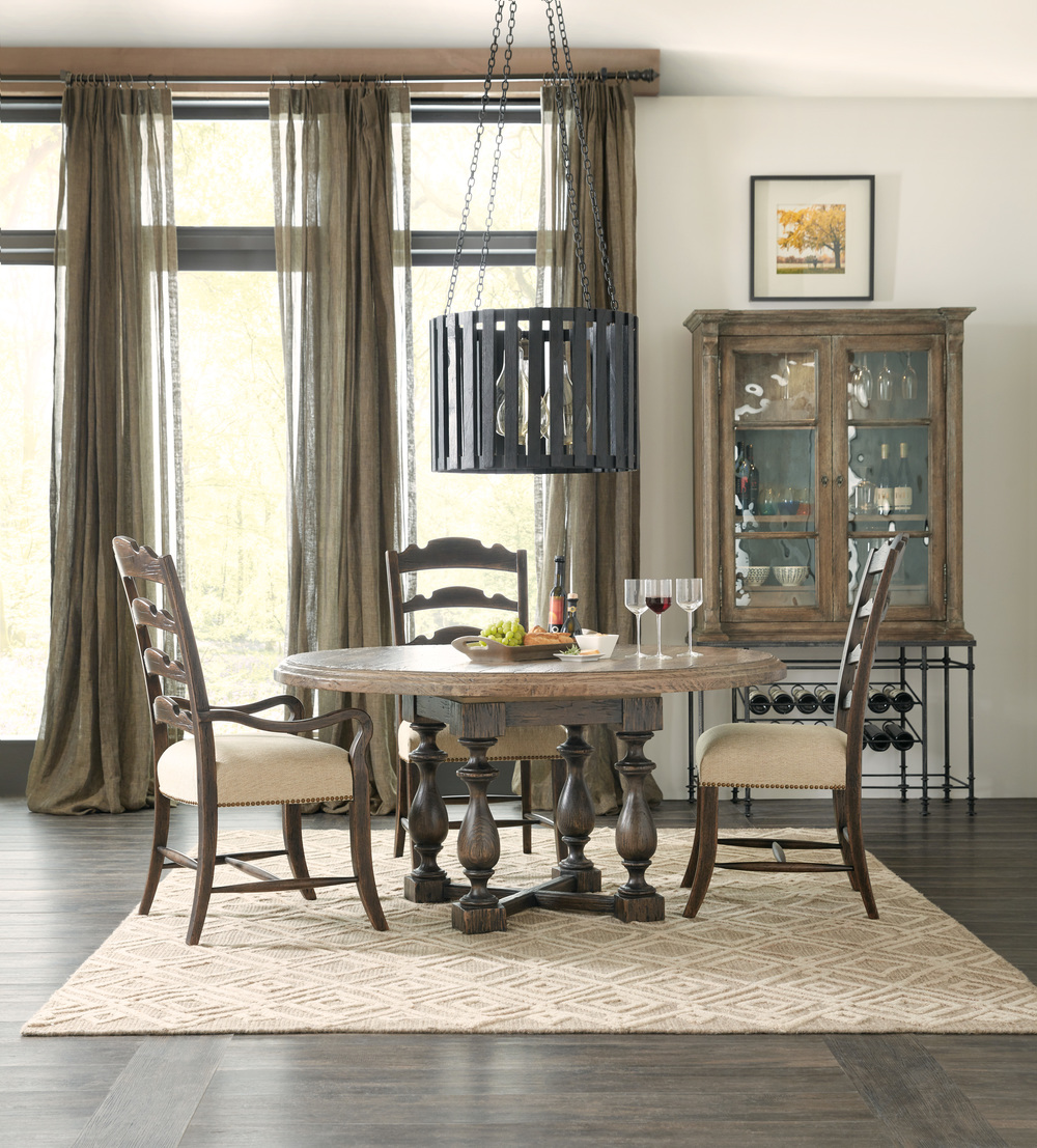 Hooker Furniture - Twin Sisters Ladderback Arm Chair