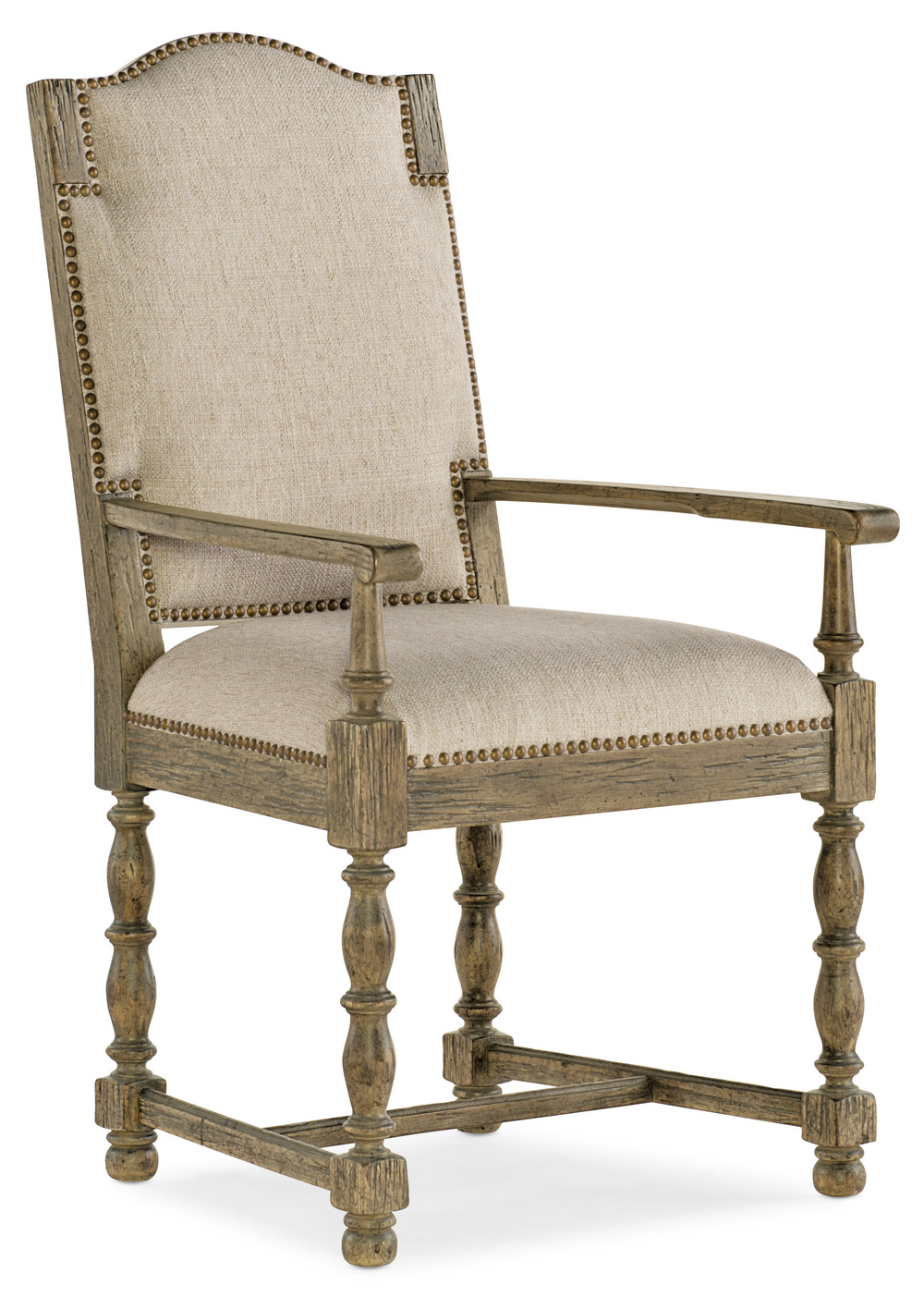 Hooker Furniture - Kruschel Square Back Arm Chair