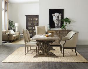 Thumbnail of Hooker Furniture - Kruschel Square Back Side Chair, 2/ctn