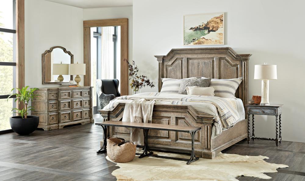 Hooker Furniture - Bradshaw California King Panel Bed