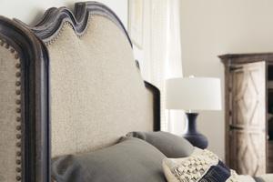 Thumbnail of Hooker Furniture - Fayette King Upholstered Bed