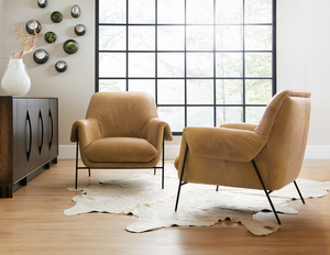 Thumbnail of Hooker Furniture - Ambroise Metal Frame Club Chair
