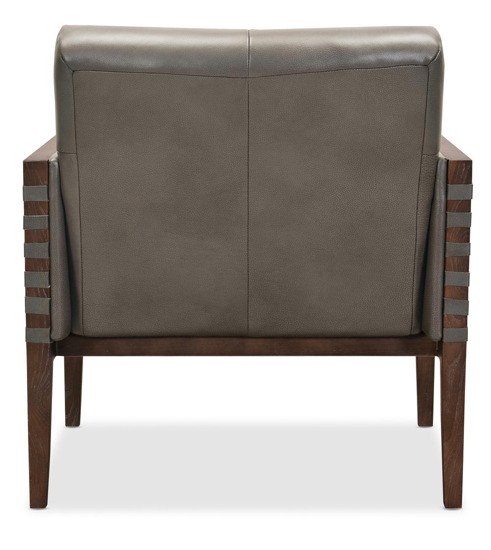 Hooker Furniture - Carverdale Club Chair w/ Wood Frame