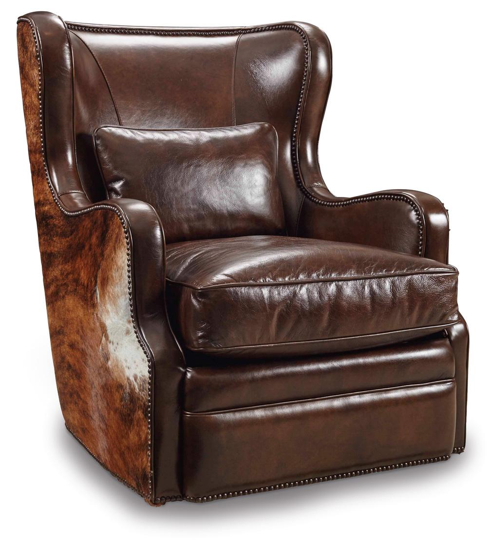 Hooker Furniture - Wellington Swivel Club Chair