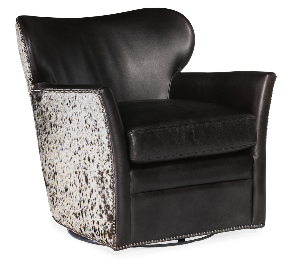 Hooker Furniture - Leather Swivel Chair