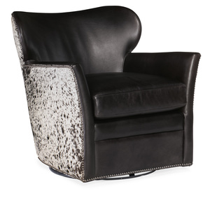 Thumbnail of Hooker Furniture - Leather Swivel Chair