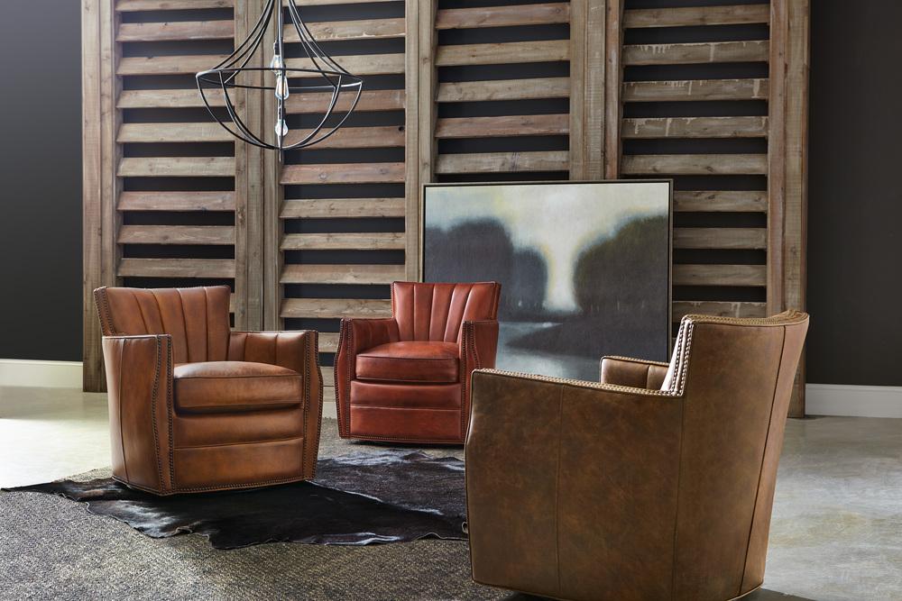 Hooker Furniture - Carson Swivel Club Chair