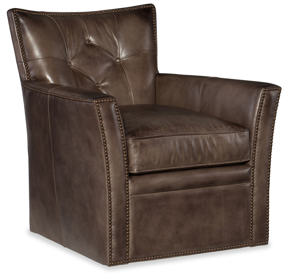 Hooker Furniture - Conner Swivel Club Chair