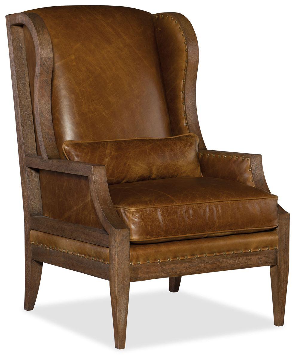Hooker Furniture - Laurel Exposed Wood Club Chair