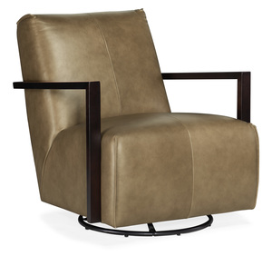 Thumbnail of Hooker Furniture - Modestus Exposed Arm Swivel Glide Club Chair