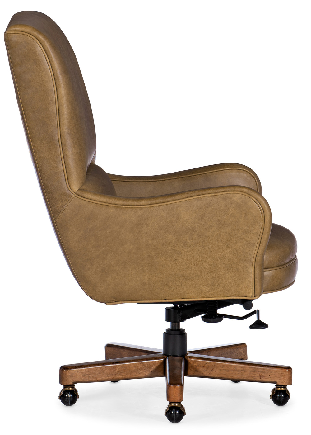 Hooker Furniture - Dayton Executive Swivel Tilt Chair with Metal Base