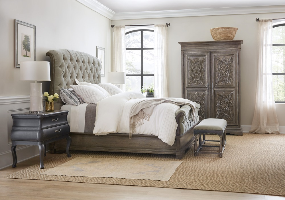 Hooker Furniture - Woodlands Upholstered Bedroom Set
