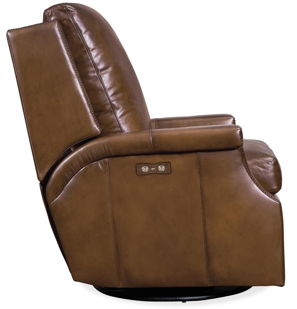 Hooker Furniture - Collin Power Swivel Glider Recliner