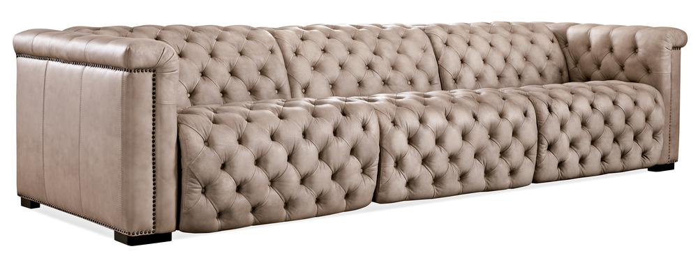 Hooker Furniture - Savion Grandier Power Motion Sofa with Power Headrest