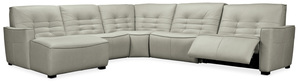 Thumbnail of Hooker Furniture - Reaux Left Arm Facing Chaise Sectional with Two Power Recliners, 5 Piece