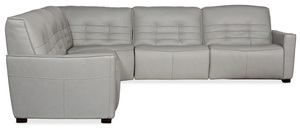 Thumbnail of Hooker Furniture - Reaux Leather Power Motion Sectional with Three Recliners