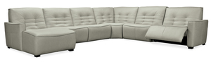 Thumbnail of Hooker Furniture - Reaux Grandier Six piece Left Arm Facing Chaise Sectional with Two Recliners