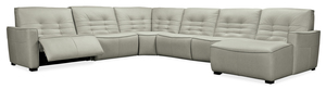 Thumbnail of Hooker Furniture - Reaux Grandier Six piece Right Arm Facing Chaise Sectional with Two Recliners
