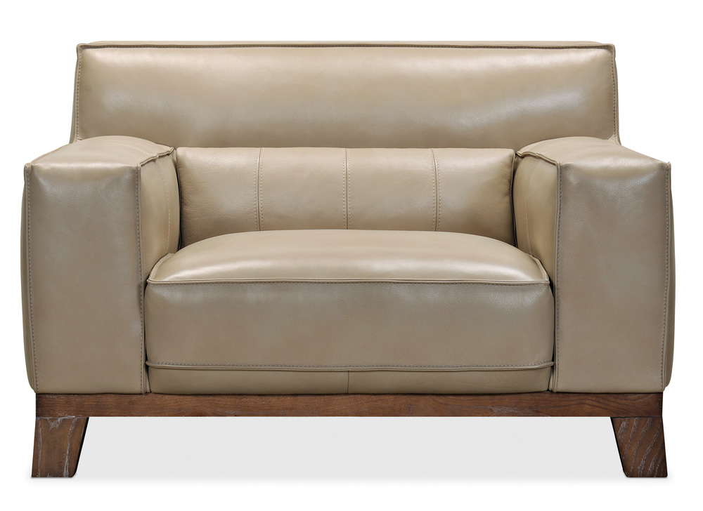 HOOKER FURNITURE CO - Prosper Leather Stationary Chair