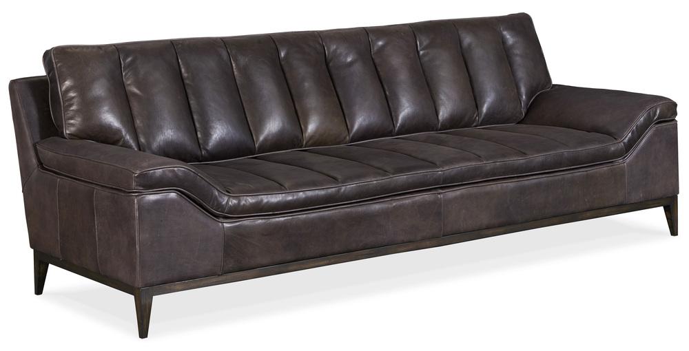 Hooker Furniture - Kandor Leather Stationary Sofa