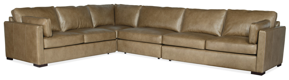Hooker Furniture - Romiah Stationary Sectional, Four Piece