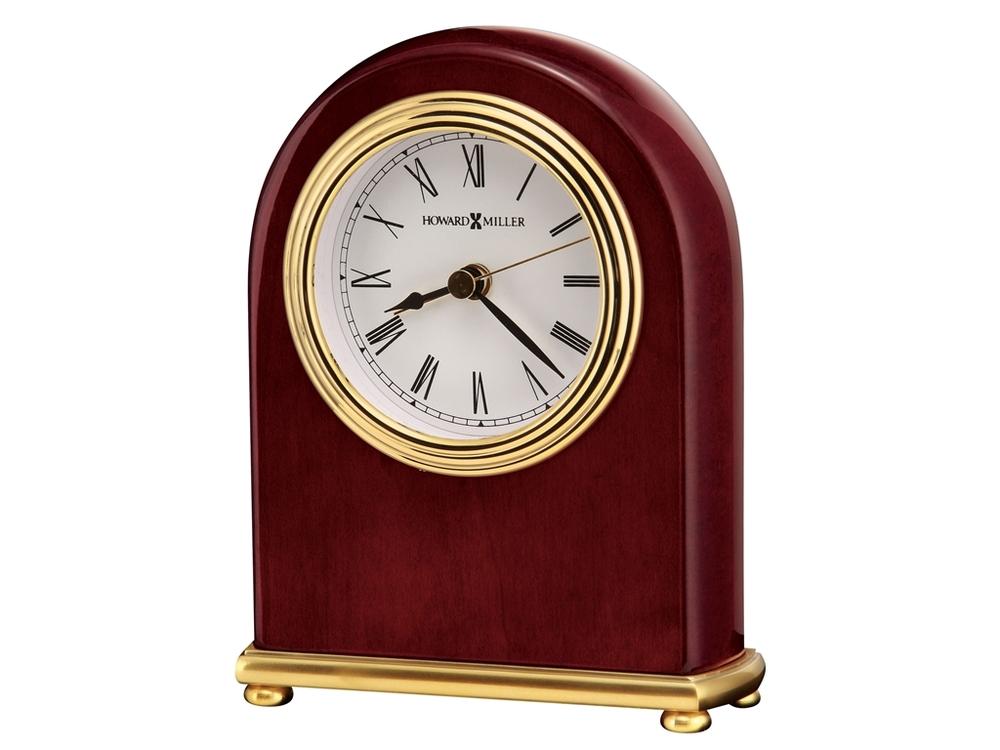 Howard Miller Clock - Rosewood Arch Table Top Clock