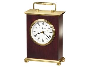 Thumbnail of Howard Miller Clock - Rosewood Bracket Table Top Clock