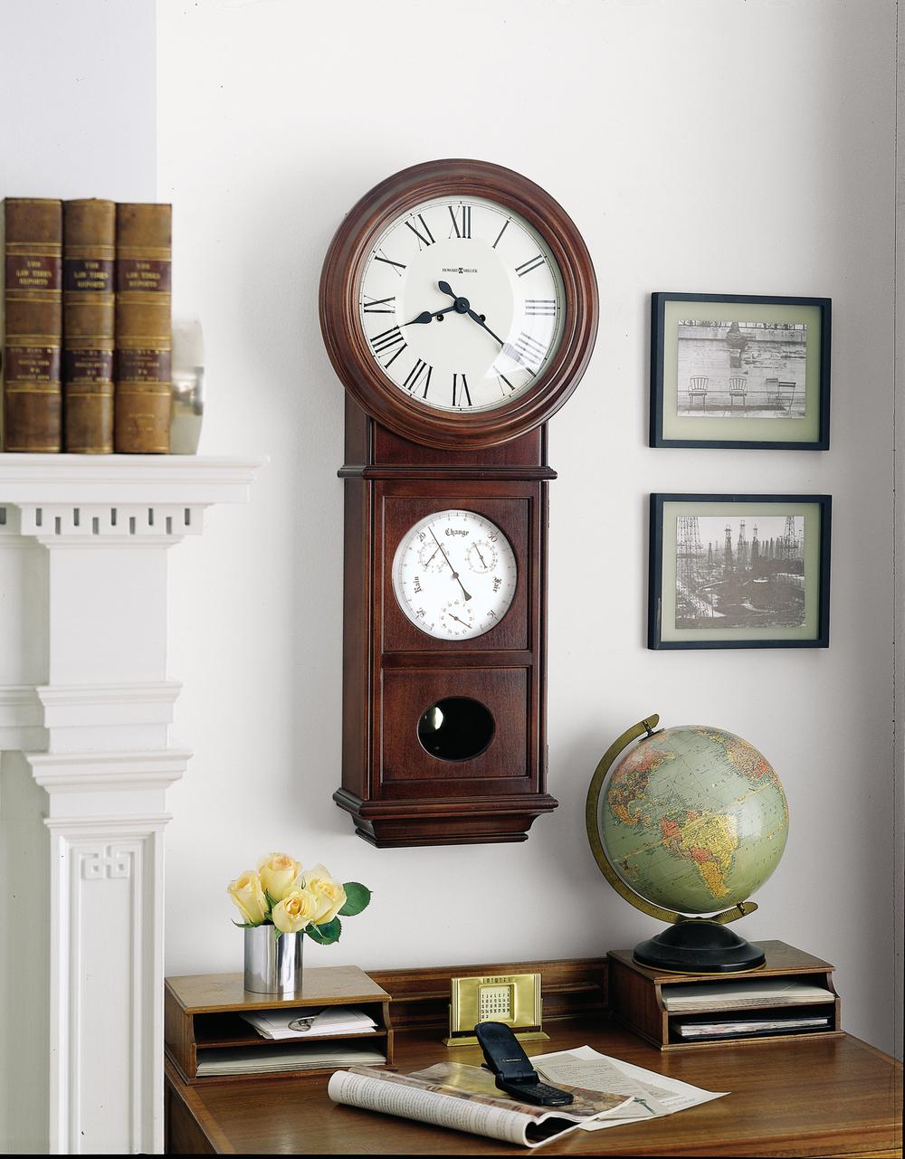 Howard Miller Clock - Lawyer II Wall Clock