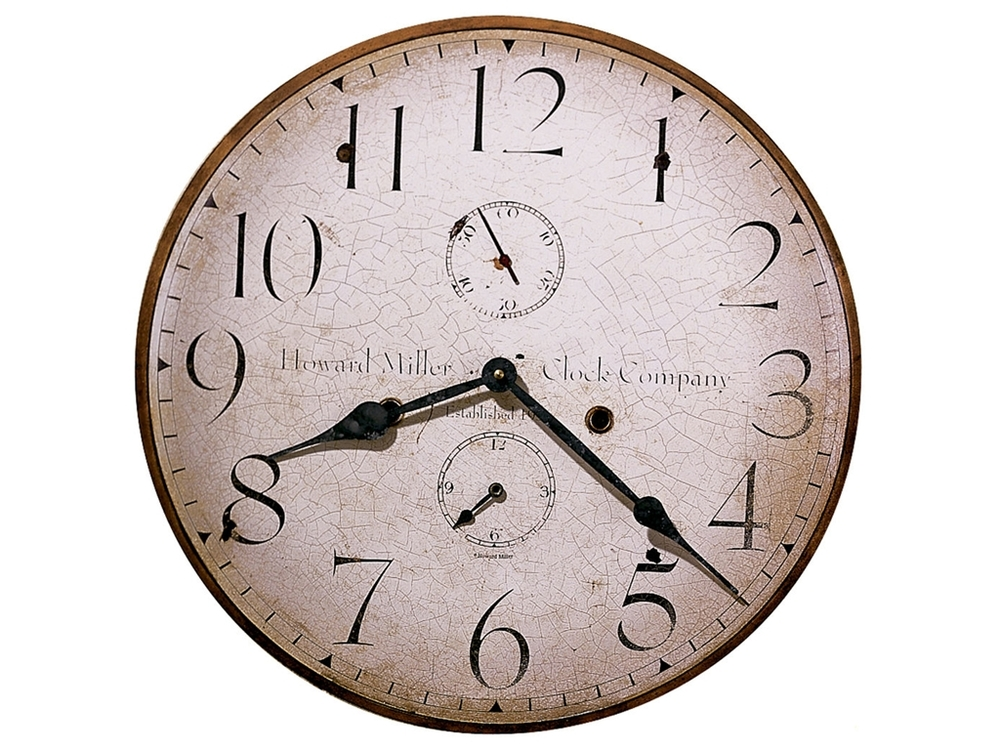 Howard Miller Clock - Original Howard Miller III Wall Clock
