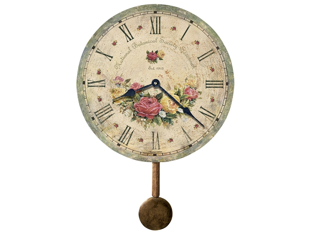 Howard Miller Clock - Savannah Botanical Society VI Wall Clock