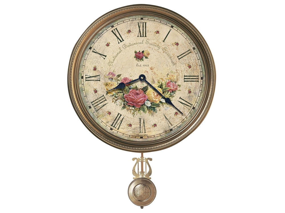 HOWARD MILLER CLOCK CO - Savannah Botanical VII Wall Clock