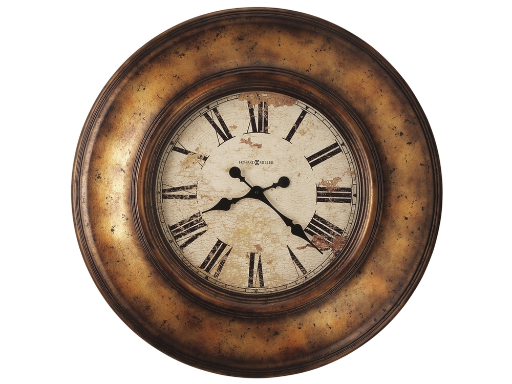 Howard Miller Clock - Copper Bay Wall Clock