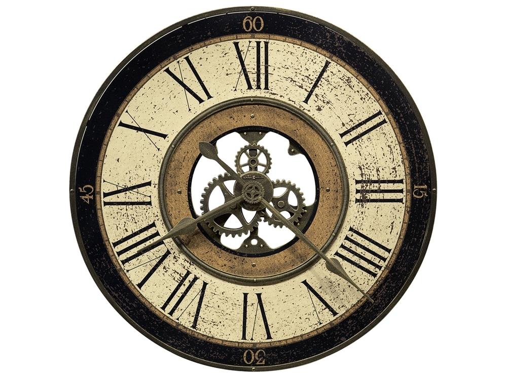 Howard Miller Clock - Brass Works Wall Clock