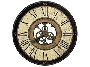 Thumbnail of Howard Miller Clock - Brass Works Wall Clock