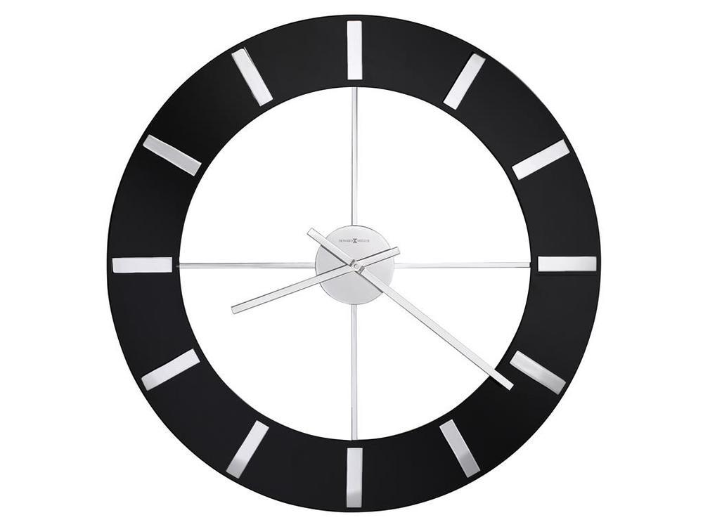 Howard Miller Clock - Onyx Wall Clock