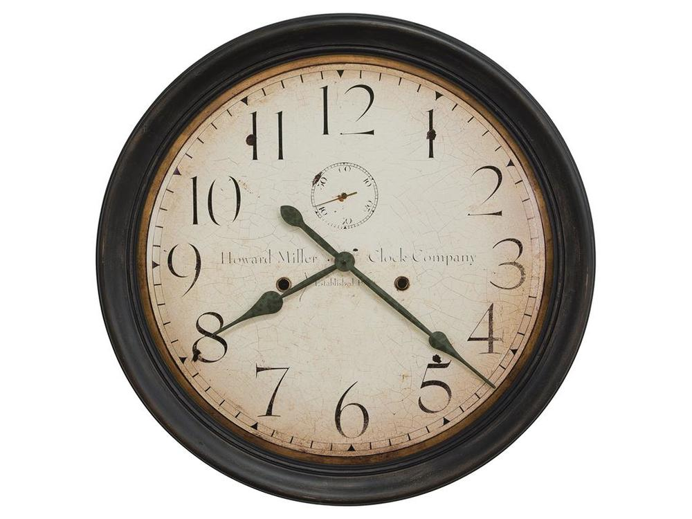 HOWARD MILLER CLOCK CO - Squire Wall Clock