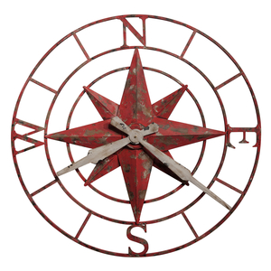 Thumbnail of Howard Miller Clock - Compass Rose Wall Clock