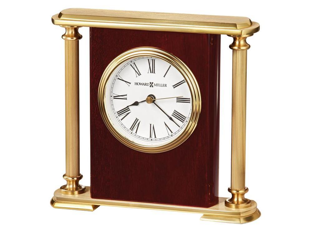 Howard Miller Clock - Rosewood Encore Bracket Table Top Clock