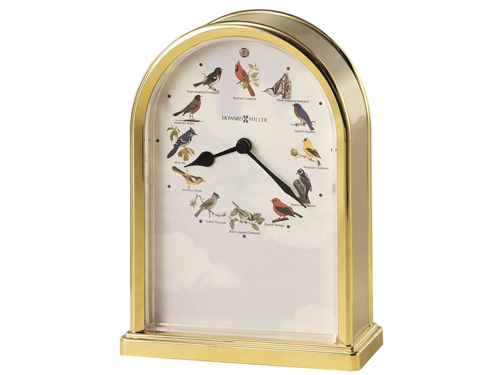 Howard Miller Clock - Songbirds III Table Top Clock