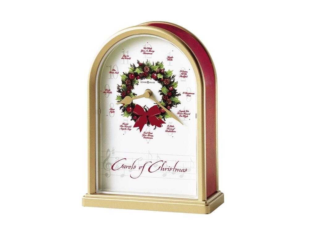 Howard Miller Clock - Carols of Christmas II Table Top Clock