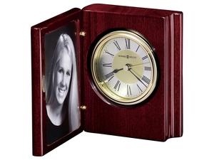 Thumbnail of Howard Miller Clock - Portrait Book Table Top Clock