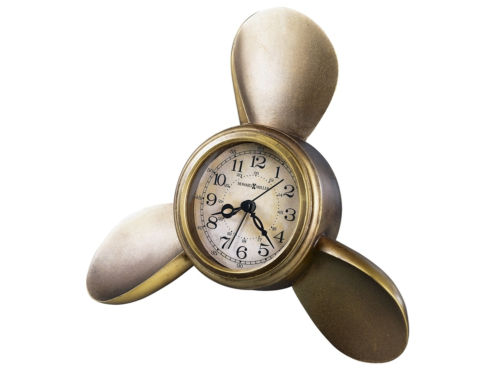 Howard Miller Clock - Propeller Table Top Clock