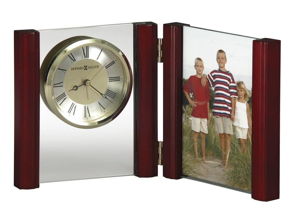 Howard Miller Clock - Alex Rosewood Table Top Clock